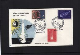 Argentina 1965 Raumfahrt / Space FDC - FDC & Commémoratifs