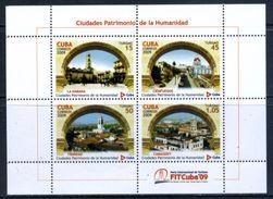 Cuba 2009 / UNESCO World Heritage MNH Patrimonio De La Humanidad / Cs06 - UNESCO