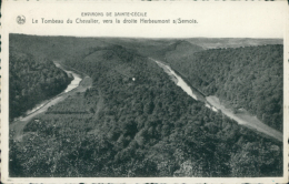 BE HERBEUMONT /  Le Tombeau Du Chevaler, Vers La Droite Herbeumont / - Herbeumont