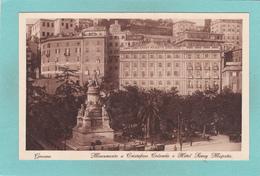 Old Postcard Of Genova,Genoa, Liguria, Italy,N62. - Genova (Genoa)