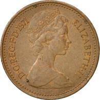 Grande-Bretagne, Elizabeth II, 1/2 New Penny, 1971, TB+, Bronze, KM:914 - 1971-… : Monnaies Décimales