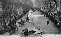 AIX-EN-PROVENCE / INAUGURATION DU MONUMENT LEYDET / A 33 - Aix En Provence