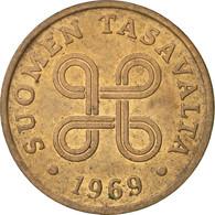 Finlande, Penni, 1969, TB+, Cuivre, KM:44 - Finlande