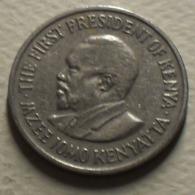 1977 - Kenya - Republic - 50 CENTS - KM 13 - Kenya