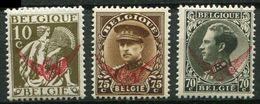 Belgique * Service N° 16 - 18 - 19 - Unused Stamps