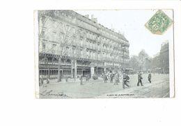Cpa 75 PARIS - Rue De La République - Etablissement DUVAL Animation - J.V.C. - Francia