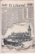 Spain: Madrid - El Liberal Newspaper Postcard To Clapham, London - Spanien