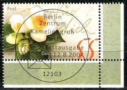 BRD - Michel 2414 ECKE REU - Zentrisch OO Gestempelt (a) - 55C  Post, Kameliengruß - Gebraucht