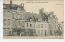 BACQUEVILLE - Place De L'Hôtel De Ville - Sonstige Gemeinden