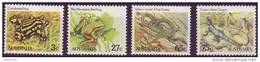 ( 1718 ) Australia - Fauna -   Frogs - Snakes - Dragon  . - Frogs