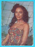 DOROTHY DANDRIDGE  -  Yugoslavian Vintage Gum Card 1970's * Usa Film Actress * American Movie Star - Cinema & TV