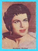 BARBARA RUTING  -  Yugoslavian Vintage Gum Card 1970's * Germany Deutschland - Cinema & TV