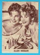 ELLEN KESSLER  -  Yugoslavian Vintage Gum Card 1960's - Cinema & TV