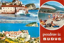 Montenegro - Pozdrav Iz - Budve - Budva - Multivues - Semi Moderne - Bon état - Montenegro