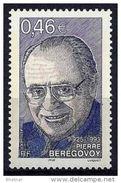 """Timbre France Yt 3553 """" P. Bérégovoy """" 2003 Neuf - France"""