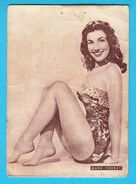 MARA CORDAY  -  Yugoslavian Vintage Gum Card 1960's * Showgirl Model Actress Playboy Playmate And A 1950s Cult Figure - Cinema & TV