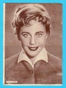 MARIA SCHELL -  Yugoslavian Vintage Gum Card 1960's * Austria & Switzerland Actress - Cinema & TV