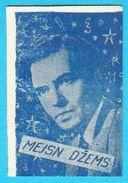 JAMES MASON -  Yugoslavian Vintage Gum Card 1960's * England British Actor - Cinema & TV