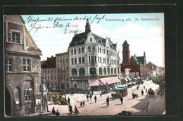 AK Brandenburg, Pferdebahn In Der St. Annenstrasse - Brandenburg
