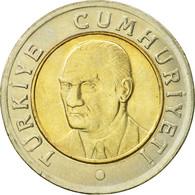 Turquie, New Lira, 2005, Istanbul, SUP, Bi-Metallic, KM:1169 - Turquie