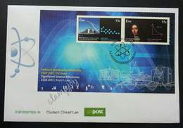 Ireland Significant Science Milestones 2012 Atom Technology (miniature FDC) - Covers & Documents