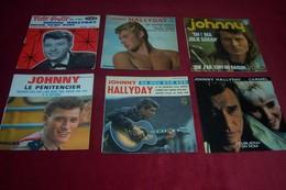 LOT DE 22  POCHETTES DE DISQUES VINYLES D'EPOQUE  DE JOHNNY HALLYDAY  °°°  SANS LES VINYLES  POCHETTE SEULE - Collections