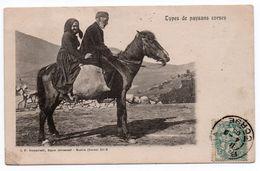 TYPES DE PAYSANS CORSES - Autres Communes