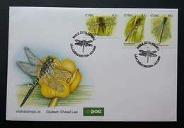 Ireland Dragonfly 2009 Insect Dragonflies Pond Life Insects (stamp FDC) - 1949-... Republic Of Ireland