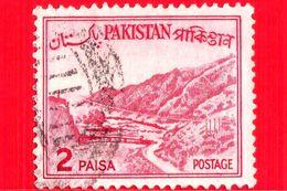 PAKISTAN - Usato - 1961 - Montagne - Paesaggi - Khyber Pass - 2 - Pakistan