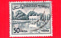 PAKISTAN - Usato - 1962 - Giardini - Parchi - UNESCO - Shalimar Gardens - 50 - Pakistan