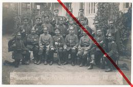 Doberschau-Gaußig - Gnaschwitz - Pulverfabrik Wache 1917 - 3. Kompanie - Wachmannschaft Landwehr Landsturm - Bautzen