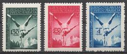 Yugoslavia 524-26** 1947 BALKAN GAMES, LJUBLJANA - 1945-1992 República Federal Socialista De Yugoslavia