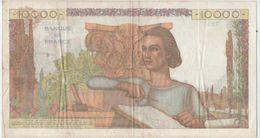 10000 FRANCS .GENIE FRANCAIS.TYPE 1945.TTB+.  DU 04.06.1953.DE + EN + DUR A TROUVER. - 1871-1952 Anciens Francs Circulés Au XXème