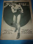 1916 J'AI VU: Georges Carpentier Aviateur-boxeur;Econome Avec Pot-au-feu Sans Feu;Chiens Mascottes Et Chiens De Combat; - Magazines & Papers