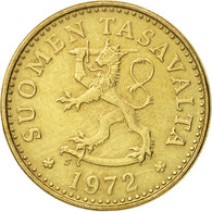 Finlande, 10 Pennia, 1972, TTB+, Aluminum-Bronze, KM:46 - Finlande