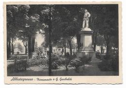 ABBIATEGRASSO - MONUMENTO A G.GARIBALDI NV FG - Varese