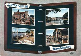 03 MONTLUCON  -    LIVRE OUVERT   ( Voir Verso ) - Montlucon