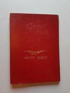Moto Guzzi Cartina Stradale Italia 1950 Originale - Genuine Factory Italy Map - Motos