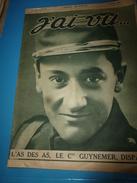 1917 J'AI VU:Guynemer;Les Femmes-bouchers;La BROUETTE Par P. M. Orlan;Obusier à L'Isonzo;Japon;Les Sammies;KERENSKY;etc - French