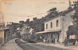 06 - ALPES MARITIMES / Cap D' Ail - 06071 - La Gare - Train - Beau Cliché - Other Municipalities