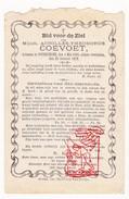 DP Achilles Th. Coevoet ° Poperinghe Poperinge 1845 † 1879 - Santini