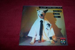 RICK  SPRINGFIELD °°°°   WORKING  CLASS  DOG    °° CD 10 TITRES - Musique & Instruments