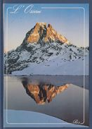= Les Pyrénées, Le Pic Du Midi D'Ossau Reflet Sur Le Lac D'Ayous, Carte Postale - France