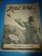 1917 J'AI VU:Nivelle; Guynemer; L'immense Camp Des Chevaux ;Huguette Duflos Chante; Arrivée Du Paquebot US ( ORLEANS); - French