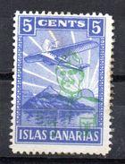 Viñeta   Nº 26  Sobrecarga Franco  Islas Canarias . - Verschlussmarken Bürgerkrieg