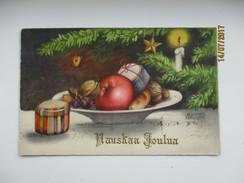 HANNES PETERSEN , CHRISTMAS SCENE  , OLD POSTCARD   ,  0 - Petersen, Hannes