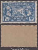 1F50 Légion Américaine Neuf ** Sans Charnière TB ( Y&T N° 245, Cote 9€) - Ungebraucht