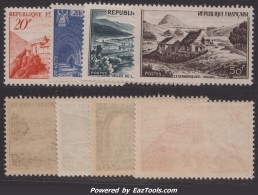 Série Monuments De 1949 Neuve ** TB ( Y&T N° 841A à 843, Cote 22.3€) - Unused Stamps