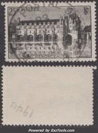 *RARE* Cachet Américain Sur 25Fr Chenonceaux (Dallay N° 611 , Cote +75€) - France