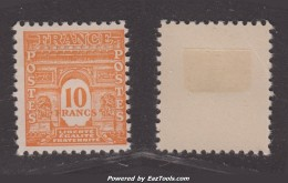 10Fr Arc De Triomphe Neuf * TB (Y&T N° 629, Cote 21.50€) - France